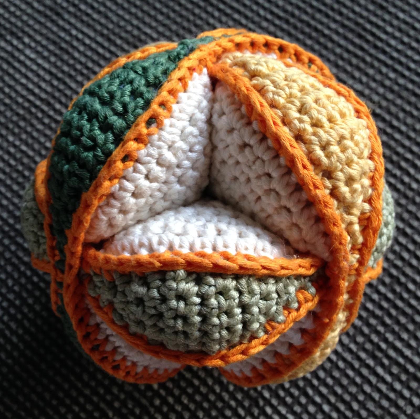 Amigurumi - einfachen großen Ball häkeln | Häkeln ball ... | 1596x1600