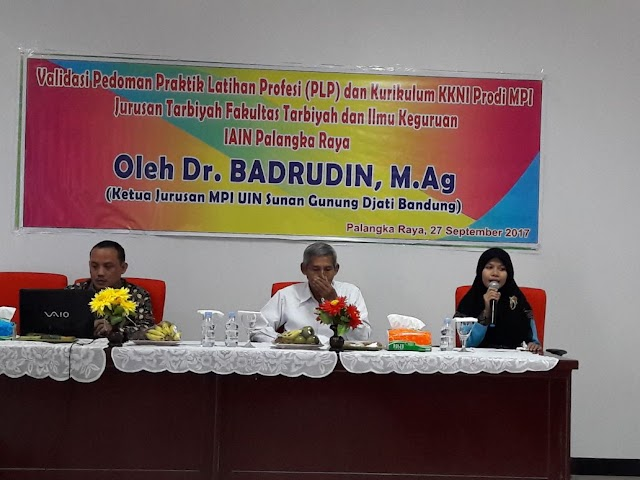 Review Kurikulum KKNI Prodi MPI FTIK IAIN Palangka Raya