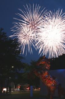 Towada Summer Festival Fireworks Display 2015 photo 十和田市夏まつり第58回花火大会写真