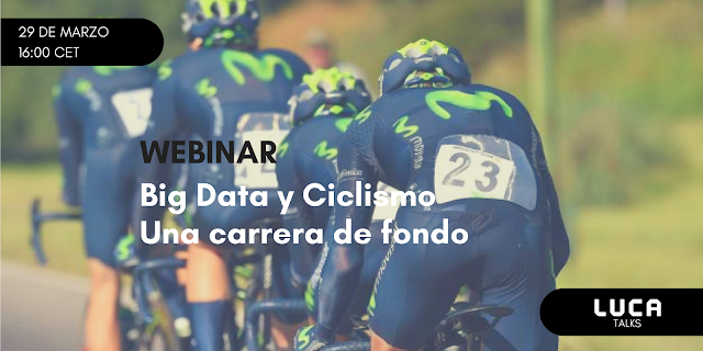 LUCA Talk 3: Big Data y Ciclismo, una carrera de fondo