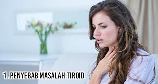 Penyebab masalah tiroid jika tahu dikonsumsi terlalu banyak