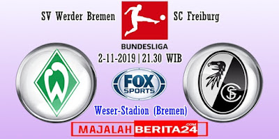 Prediksi Werder Bremen vs Freiburg — 2 November 2019