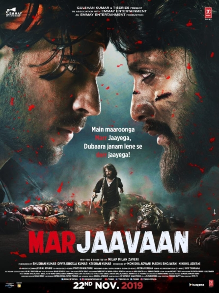 Marjaavaan new upcoming movie first look, Poster of Sidharth, Riteish, Rakul next movie download first look Poster, release date