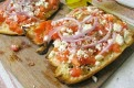 Greek Pizza Bread