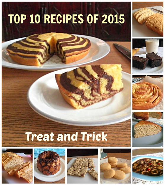 Top 10 Recipes of 2015 @ treatntrick.blogspot.com