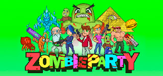 Zombie Party title art