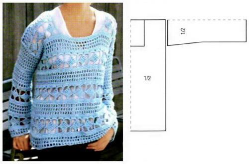 Crochet Sweater / Pullover Pattern