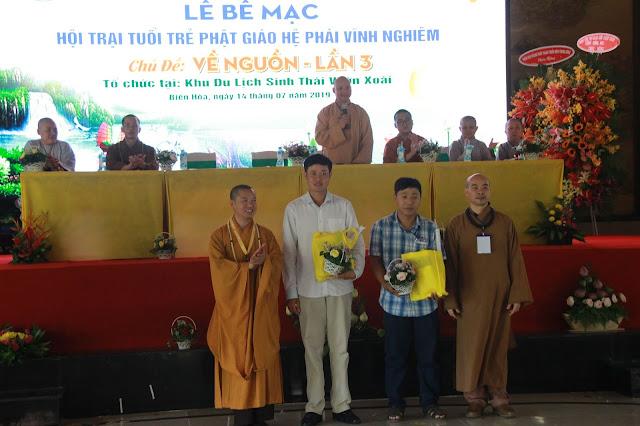 Hơn 1000 trại sinh tham dự lễ khai mạc Hội trại Tuổi trẻ Phật giáo Hệ phái Vĩnh Nghiêm lần 3 với chủ đề 'Về Nguồn' - Ảnh 9
