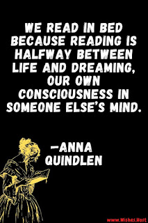 bedtime reading quote