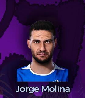 PES 2020 Faces Jorge Molina by Farouk