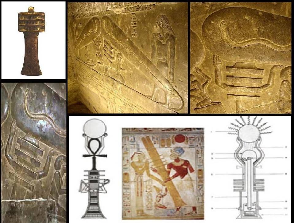 لغز عمود الجد وتوليد الكهرباء عند المصريين القدماء