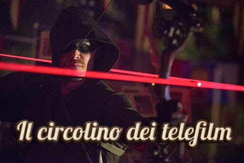 Arrow episodio 2x10 Blast Radius