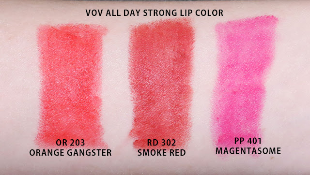 vov all day strong lip color review