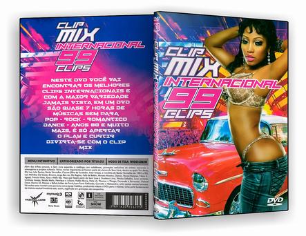 DVD Clip Mix Internacional - 99 Clips - ISO