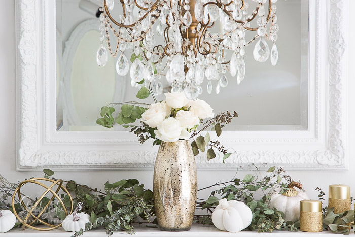 french modern mantel decorations