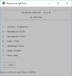 Advance ApkTool v4.2.0 PC Version