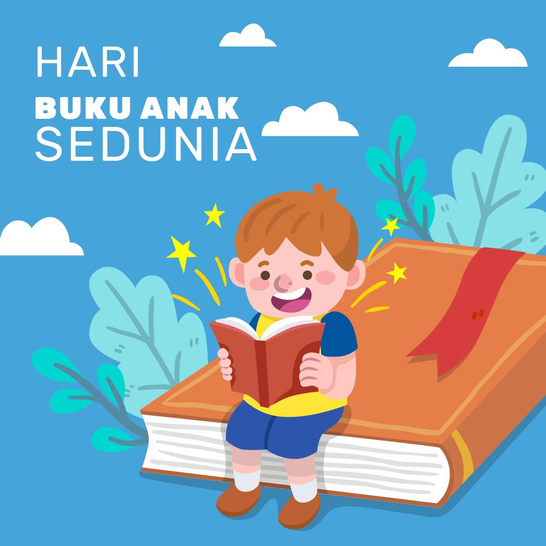 Gambar Ucapan Selamat Hari Buku Anak Sedunia 2021
