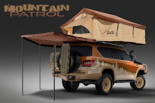 Nissan Armada Mountain Patrol (2018 Rendering) Rear Side