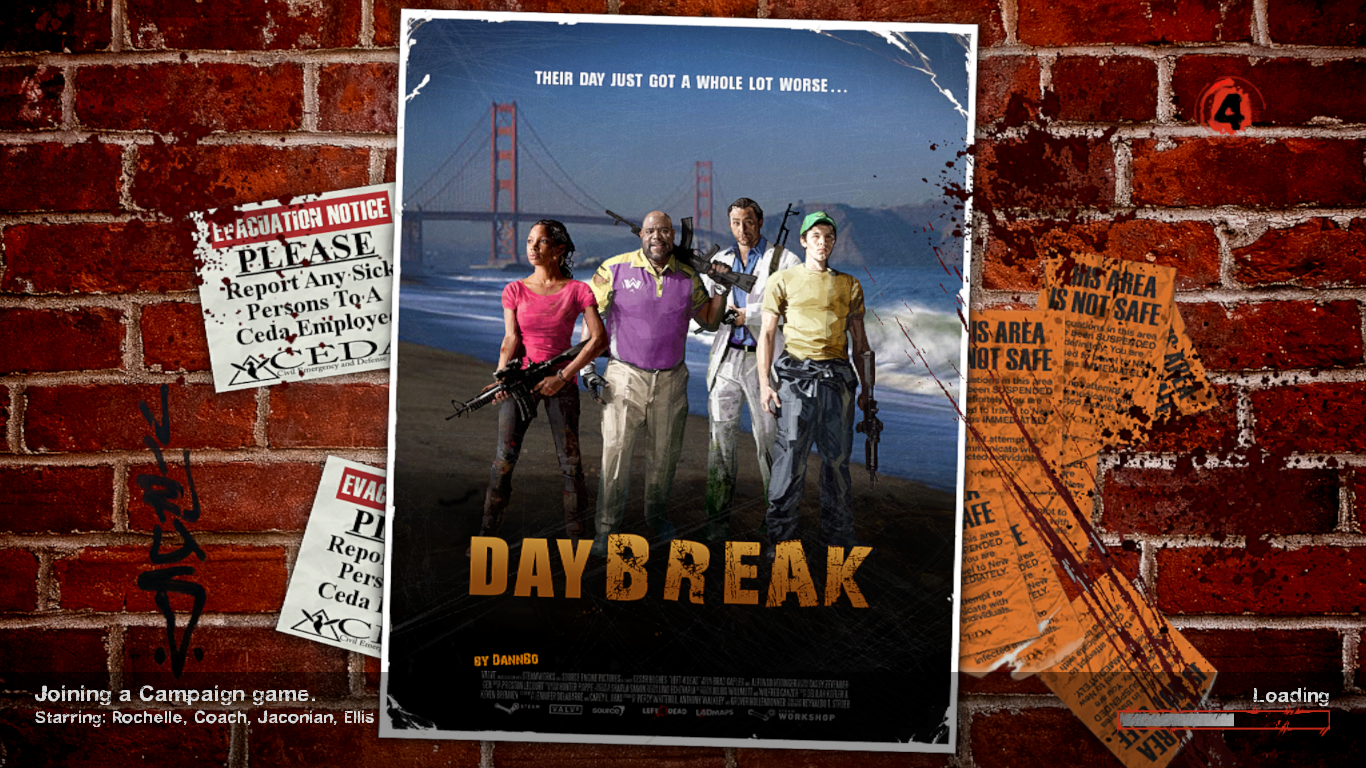 Two Boys and Their Blog: Left 4 Dead 2 Mod: Day Break (PC)