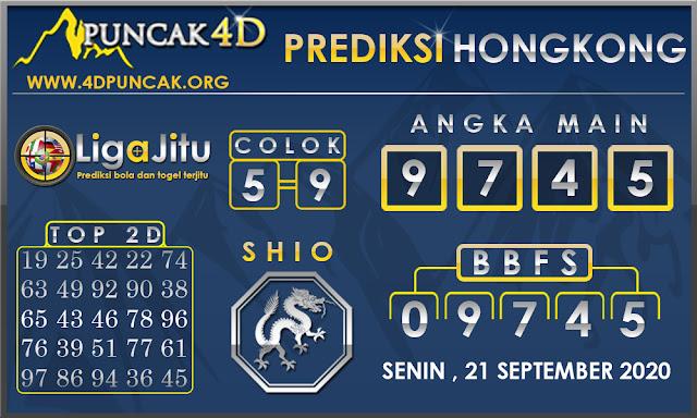 PREDIKSI TOGEL HONGKONG PUNCAK4D 21 SEPTEMBER 2020