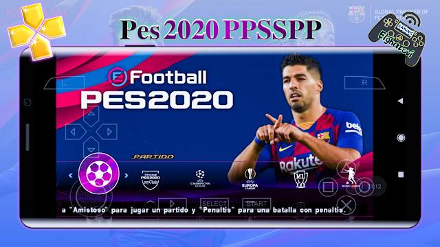 تحميل لعبة Pes 2020 PPSSP Lite بحجم 300MB أخر اصدار بأخر الانتقالات جرافيك Ps4