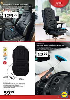 CATALOG LIDL 14 - 20 ianuarie 2019 promotii scaune auto