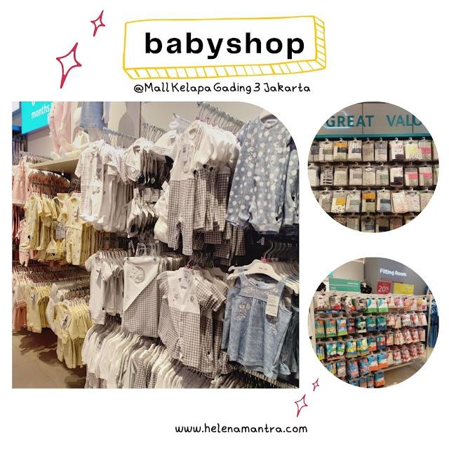 beli perlengkapan bayi di mall kelapa gading