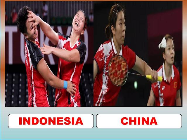 Ayo Nonton Live Streaming FINAL Badminton Ganda Putri G. Polii/A. Rahayu (INA) Vs Q.C. Chen/Y.F. Jia (CHN)