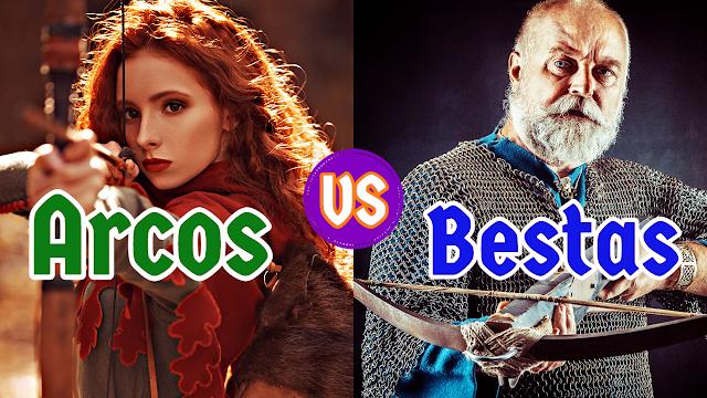 Arcos vs Bestas: qual a melhor arma?