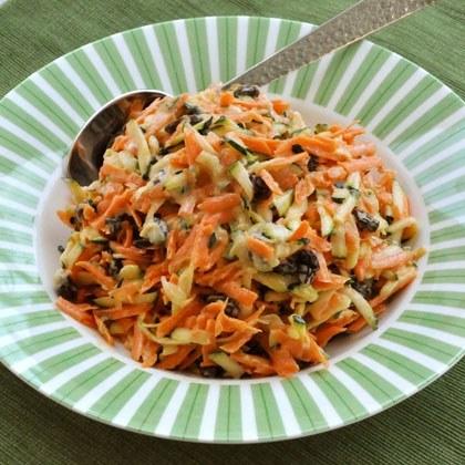 Carrot, Zucchini and Raisin Salad