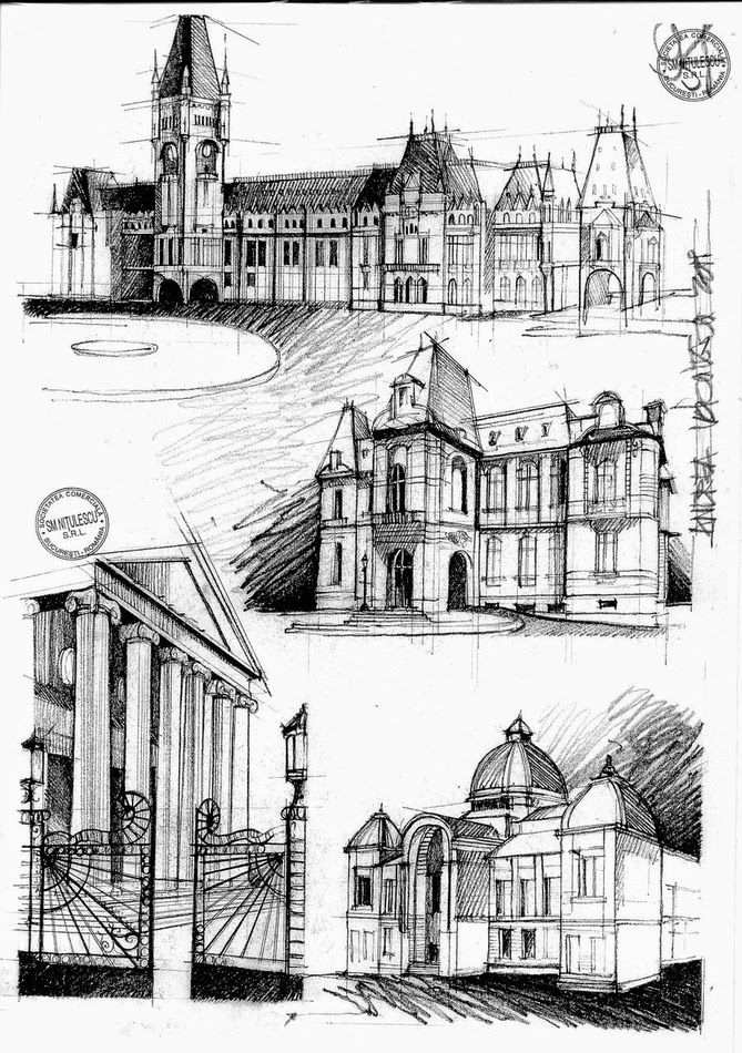 07-Romanian-Architecture-19th-Century-Andrea-Voiculescu-Drawings-of-Historic-Architecture-www-designstack-co