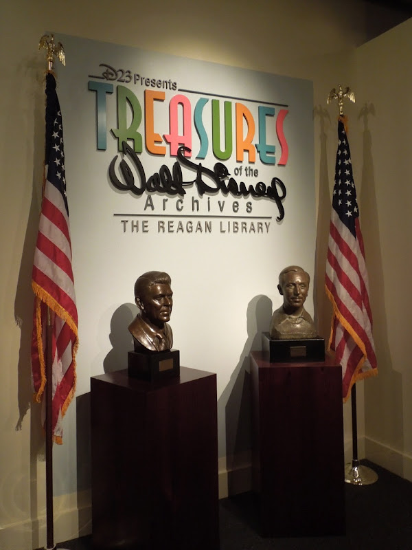 Treasures Walt Disney Archives Reagan Library