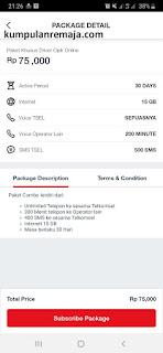 Cara Membeli Paket Driver Gojek di My Telkomsel