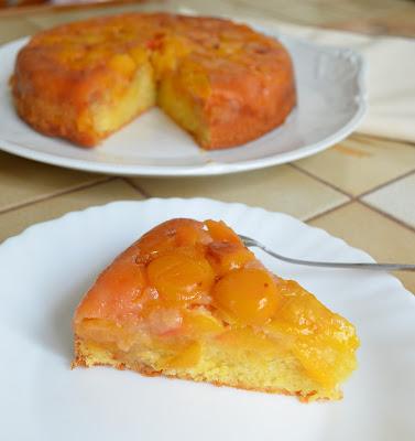 Gâteau renversé aux mirabelles