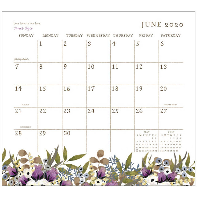 Each month of this calendar pad has a short message to live simply | LaBelle's General Store