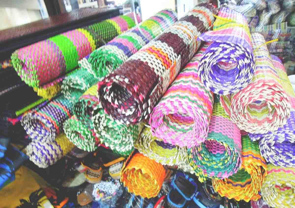 Pasalubong from Baler native mats