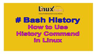 Bash History Command