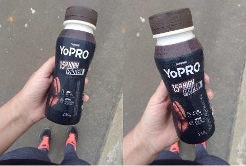 Resenha: YoPRO da Danone no sabor café expresso