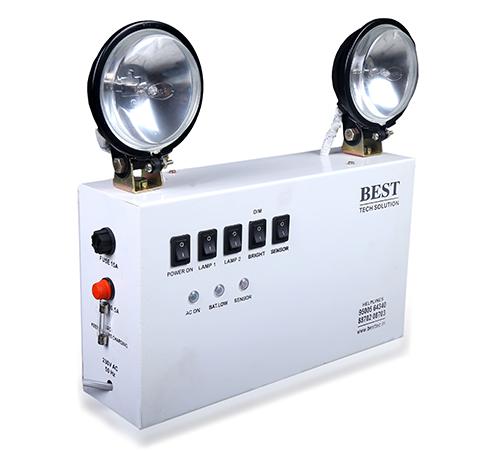 Industrial Emergency Lamp with Sesor