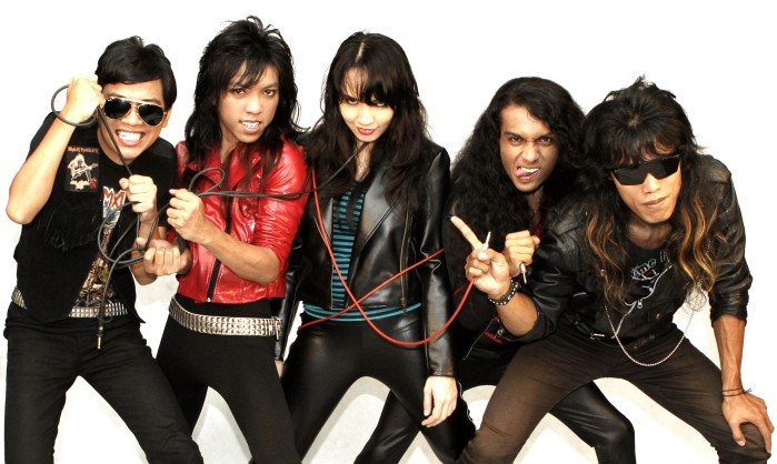 nuclear strikes female fronted heavy metal from malaysia eurockerz. Black Bedroom Furniture Sets. Home Design Ideas