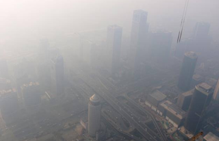 China filled with Dust and Smog from the coal companies. PHOTO | courtesy AFP