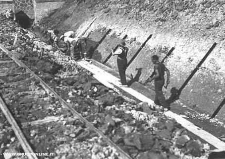 Storia della Roma-Lido: i binari arrivano a Ostia