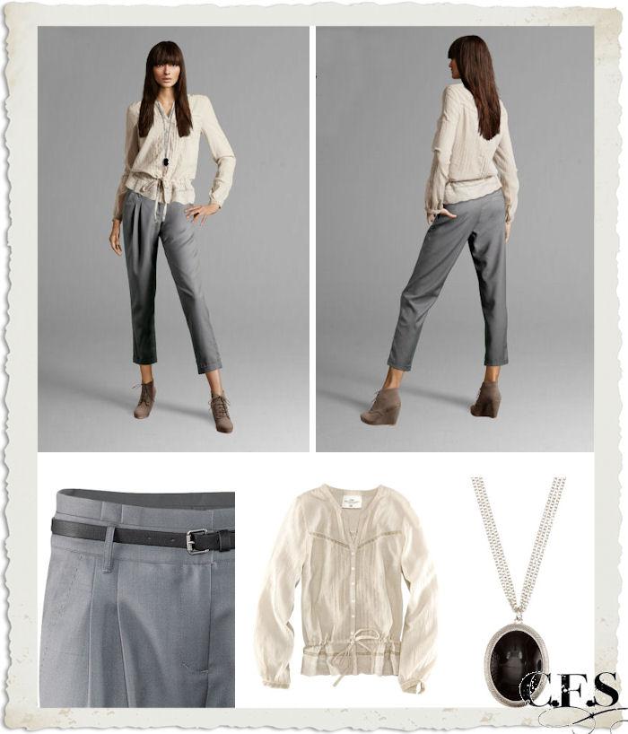 pantaloni e camicia H&M