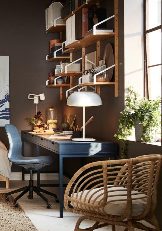 creare un elegante piccolo studio in casa