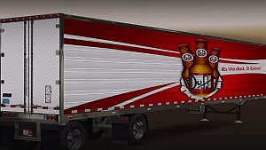 Great Dane Spread Axle trailer + skin pack