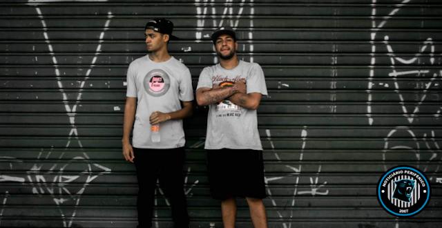 O duo 'Sampleados' lança dois sons no melhor estilo boombap
