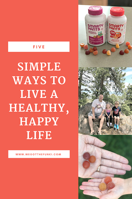5 simple ways to live a happy healthy life, how to be happier, how to be healthier, What do vitamins do, chewable vitamins for adults, gummy vitamins for adults and children, tasty gummy vitamins, gummy vitamins that taste good, gummy vitamins for adults that taste good, chewy vitamins that taste good, smartypants vitamin giveaway