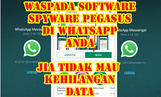 Aplikasi Whatsapp Disusupi Spyware