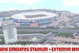 NEW Emirates Stadium + Exterior For - PES 2017
