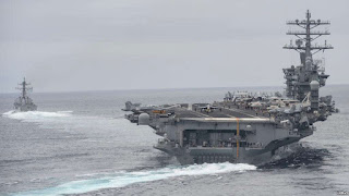 Sources: 3rd US Naval Strike Force Deployed to Deter North Korea